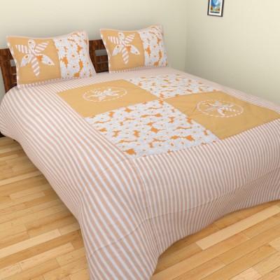 BSB Trendz Cotton Floral Double Bedsheet