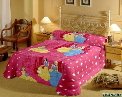 PrintStar Satin Cartoon Single Bedsheet