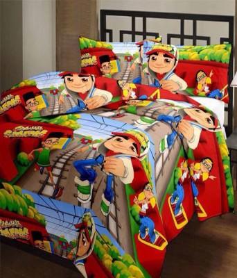 ComfortHome Cartoon Single Dohar Multicolour