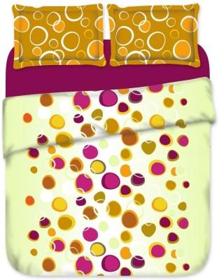 Birla Century Cotton Abstract Double Bedsheet