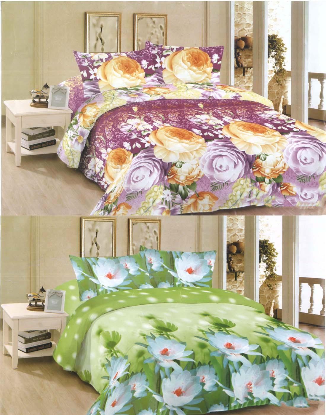 Flipkart - Set of 2 Double Bedsheets Just @ Rs.509