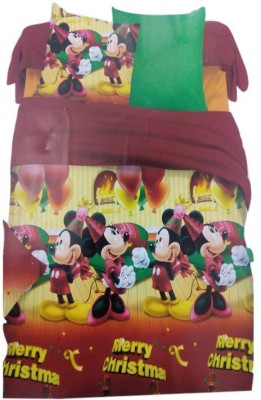 A R @ Home Cotton Cartoon Double Bedsheet