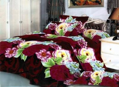 Sajawatt Polycotton Floral Double Bedsheet