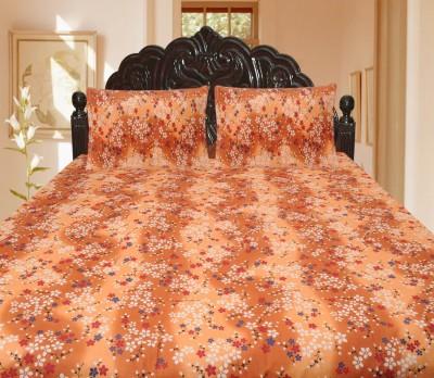 Lao - Lao Cotton Plain King sized Double Bedsheet