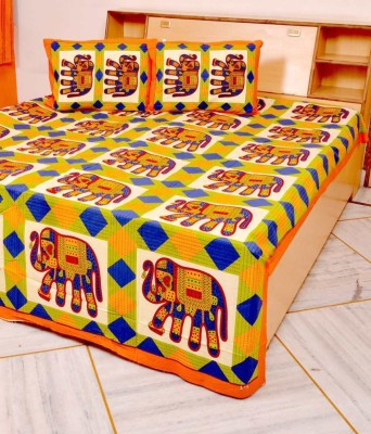 The Handicraft House Cotton Double Bed Cover
