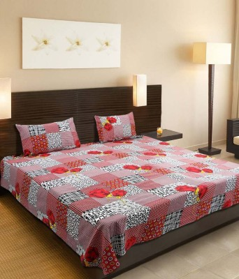 Bansal Yarn Cotton Checkered Double Bedsheet