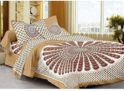 JBC Collection Cotton Printed Double Bedsheet