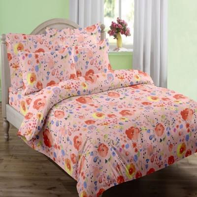 Swaas Cotton Printed Single Bedsheet