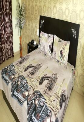 Shopcrats Polycotton Animal Double Bedsheet