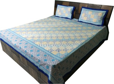 House Of Zii Cotton Printed Double Bedsheet