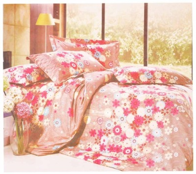 Wings Cotton Floral King sized Double Bedsheet