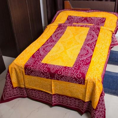 RK Raag Rang Cotton Printed Single Bedsheet