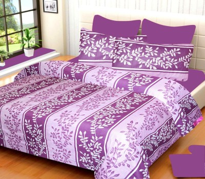 Iyana Cotton Floral Double Bedsheet