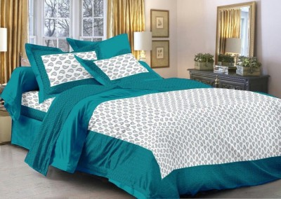 Rajasthani Print Cotton Printed King sized Double Bedsheet