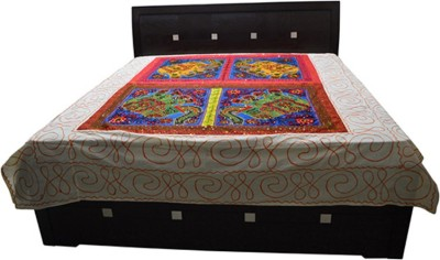 Craftuno Cotton Abstract Double Bedsheet