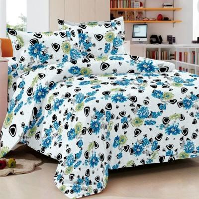 Always Plus Cotton Floral Double Bedsheet