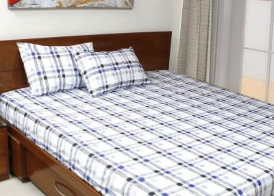 CocoBee Cotton Printed Double Bedsheet