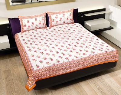 Chokor Cotton Floral Double Bedsheet