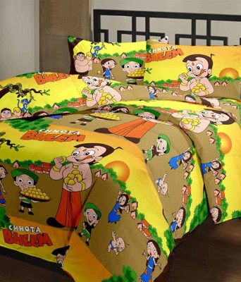 HSR Collection Cotton Printed Double Bedsheet