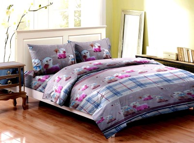 Majesty Cotton Printed Double Bedsheet