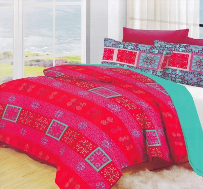 Lotus Cotton Printed Double Bedsheet