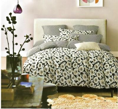 Pv Agora Cotton Floral Double Bedsheet