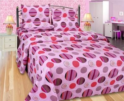 Jai Tulsi Cotton Printed Double Bedsheet