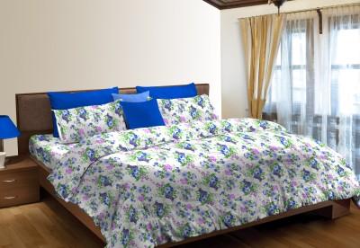 Stellar Home Cotton Abstract Single Bedsheet