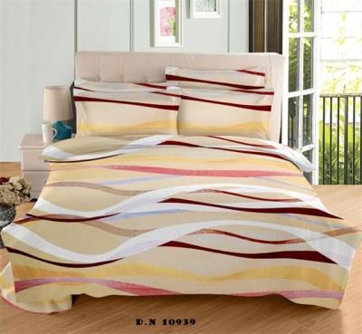 Mee Pra Cotton Checkered Double Bedsheet