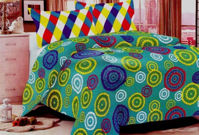 Candy Cotton Printed Double Bedsheet