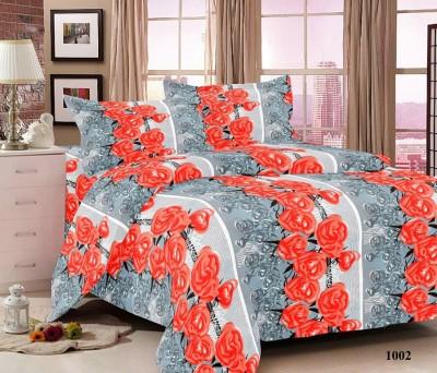 Softon Cotton Floral Double Bedsheet