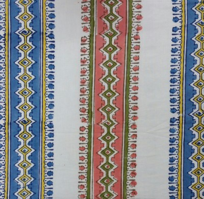 Viniyog Cotton Printed Single Bedsheet