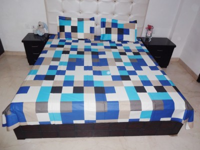 K Gallery Cotton Printed Double Bedsheet