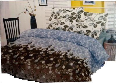 Sleepwell Cotton Floral Double Bedsheet