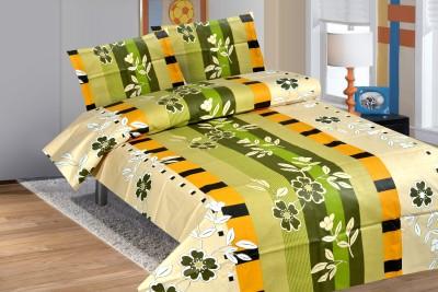 Good Karma Cotton Printed Single Bedsheet