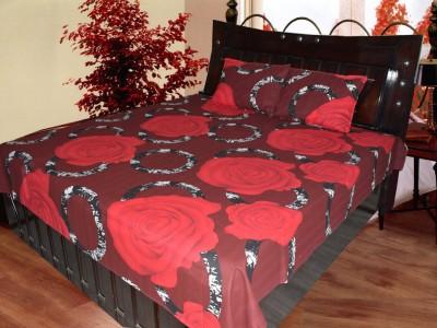 Fabbig Cotton Floral Single Bedsheet