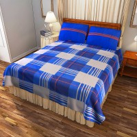 Portico New York Cotton Printed Double Bedsheet(1 Double Bed Sheet With 2 Pillow Cover, Multicolor) best price on Flipkart @ Rs. 1799