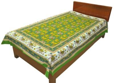Silkworm Cotton Abstract Single Bedsheet