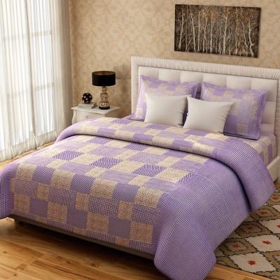 Elegance Cotton Floral Double Bedsheet