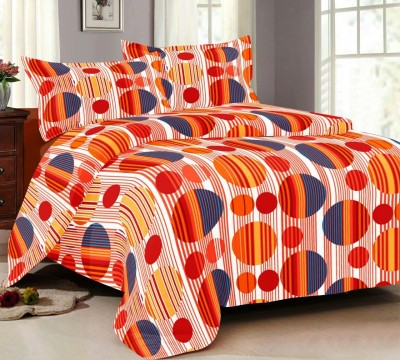 NH Cotton Goldstar Cotton Abstract Double Bedsheet