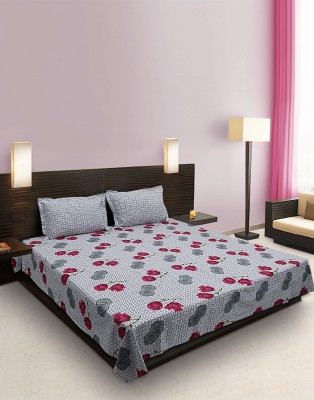 Home Stylerz Cotton Floral Double Bedsheet