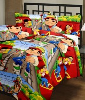 Handicana Cartoon Single Dohar Multicolor(AC Dohar, Blanket)
