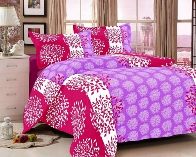 Reliable Trends Cotton Floral Queen sized Double Bedsheet