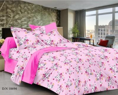 SHRINATH HANDLOOM Cotton Printed Double Bedsheet