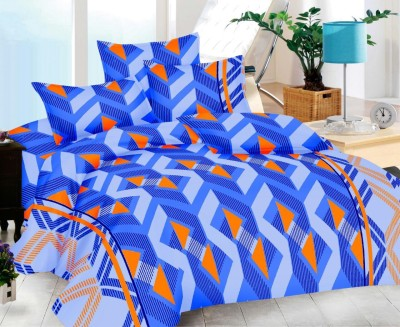 Urbano Homz Cotton Abstract Double Bedsheet