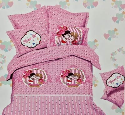 Fashion Pujari Cotton Printed Queen sized Double Bedsheet
