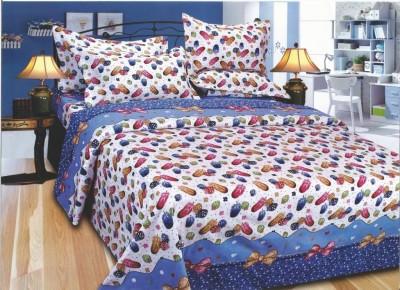 EXOTIC Polycotton Floral Single Bedsheet
