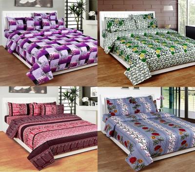 NITAVI Cotton Printed Double Bedsheet