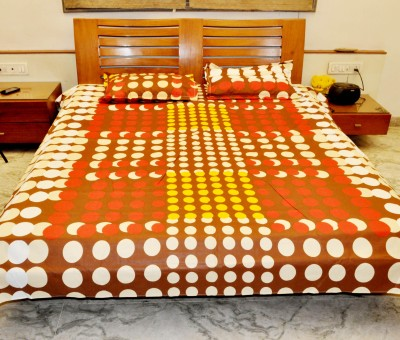 kentindia Cotton Printed Double Bedsheet
