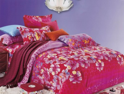 Aspire Inc Cotton Abstract Double Bedsheet